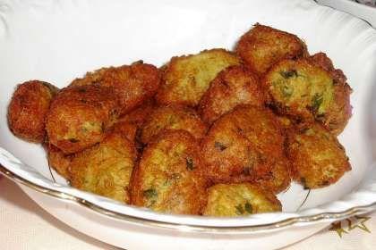 Bolinhos de Alho Francês (ovovegetariana)