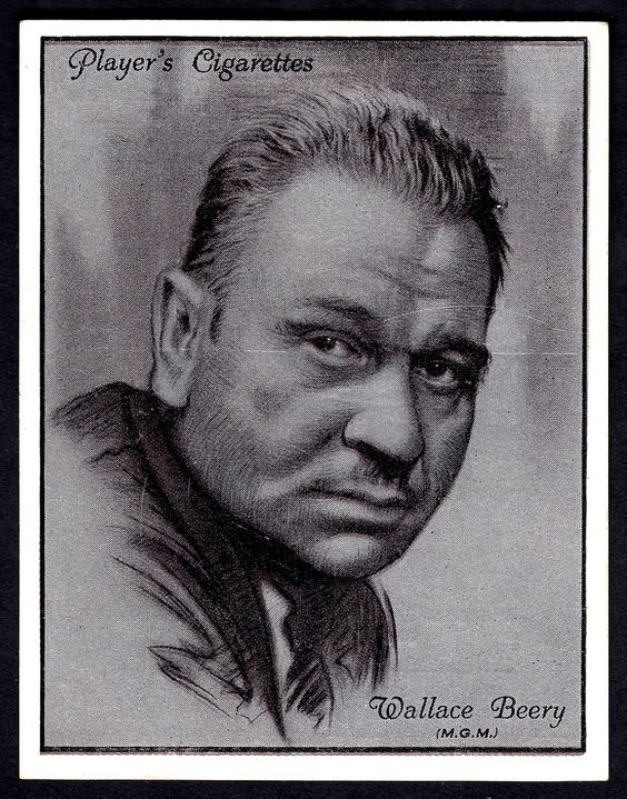 https://flic.kr/p/bv35tm   Cigarette Card - Wallace Beery   Player's Cigarettes…