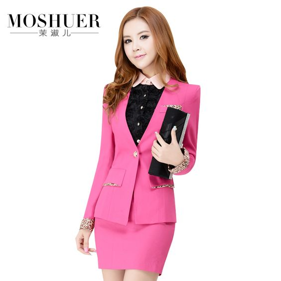 Aliexpress.com : Buy 2 pcs Professional women office lady career work suit, coat+skirt from Reliable dots skirts suppliers on Fairy Store. $99.99