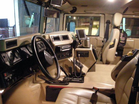 Interior Military Humvee Military Cars Pinterest