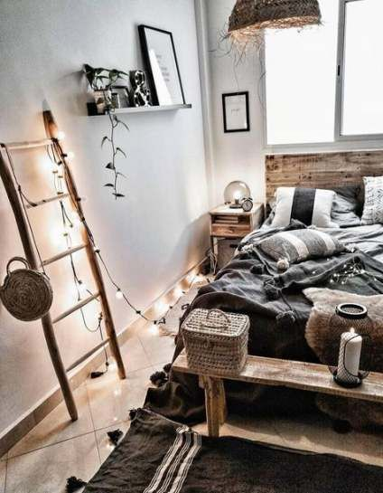 Chambre Coussins Guirlandes Tumblr Rooms Dream Bedroom Dream Rooms