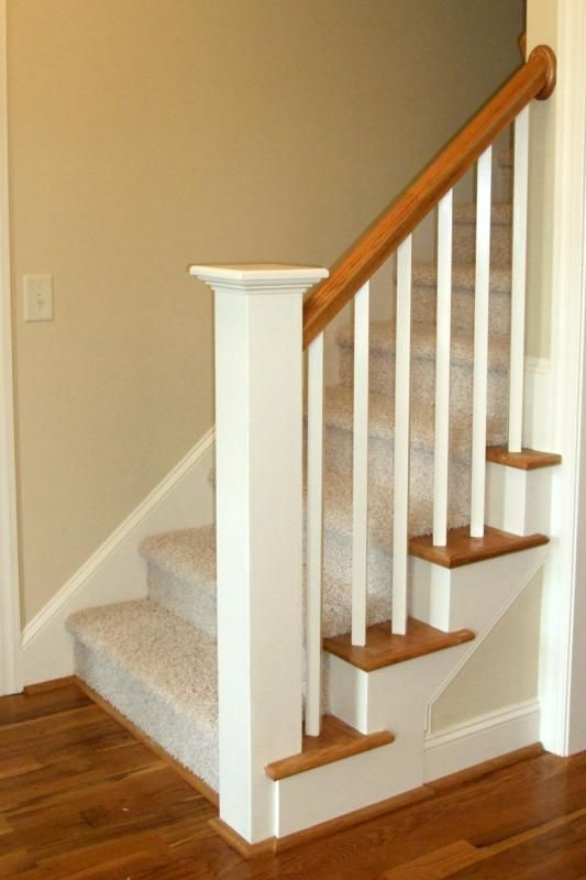 New home staircases oak craftsman and more styles for Most popular carpet styles