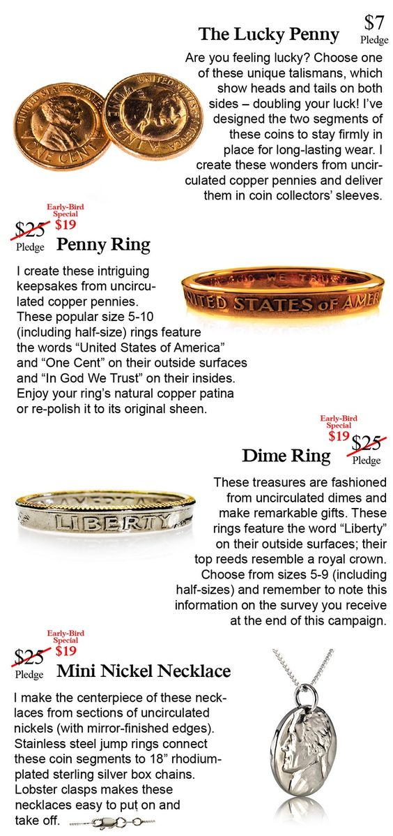 Money-Rings Unique Hand-Crafted Jewelry Made Exclusively with - Make A Survey In Word