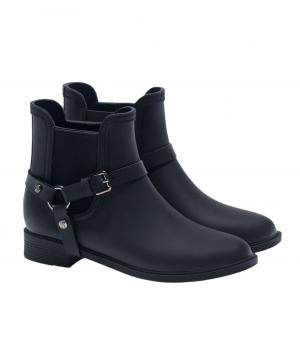 Massimo Dutti Stirrup Short Rain Boot