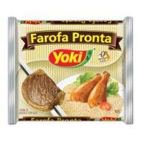 Farofa pronta Yoki mandioca
