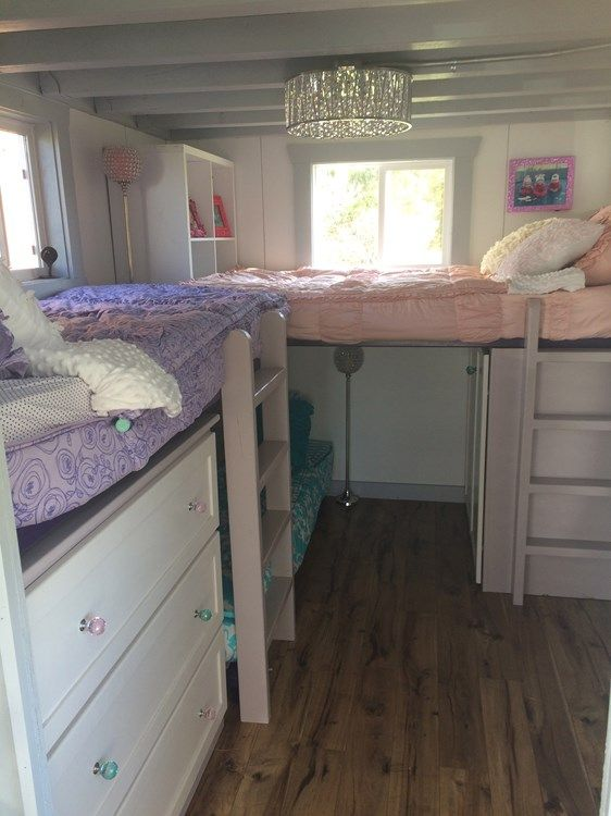 House Details Big Fam Double Tiny House Sleeps 6 10 Tiny House Organization Shed To Tiny House Small Spaces