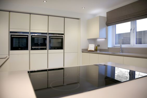 Sleek And Contemporary Siematic Kitchen Design Matt Ivory Prepossessing Kitchen Design Sheffield Inspiration Design