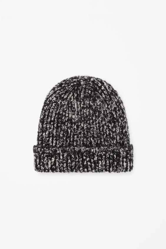 COS   Melange knit hat