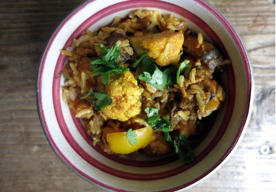 Aubergine and Cauliflower Curry Recipe on Yummly. @yummly #recipe