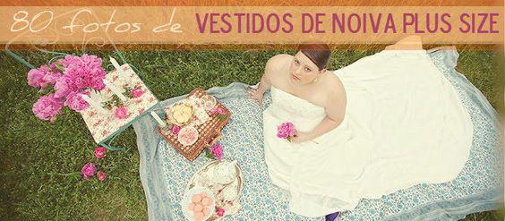 As noivas que estão acima do peso não precisam se preocupar com o vestido dos sonhos, pois a moda vestidos de noiva Plus Size já faz parte dos modelos dos