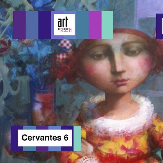 Puro Arte Estaremos en Art Madrid www.cervantes6.es www.c6artgallery.es