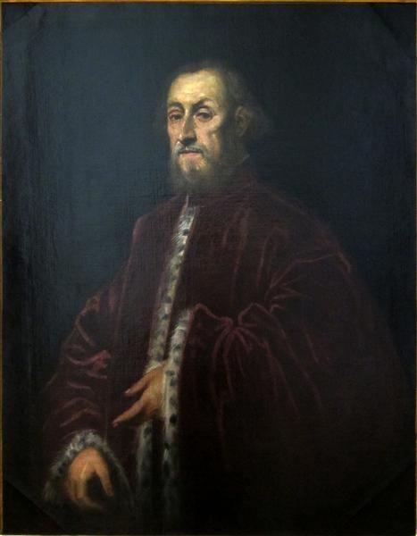 Retrato de Senador veneciano, 1570-1580