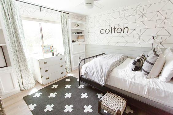 Easy Modern Kids Room
