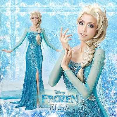 Beautiful Disney Frozen Elsa Inspired Princess Costume Adult ...