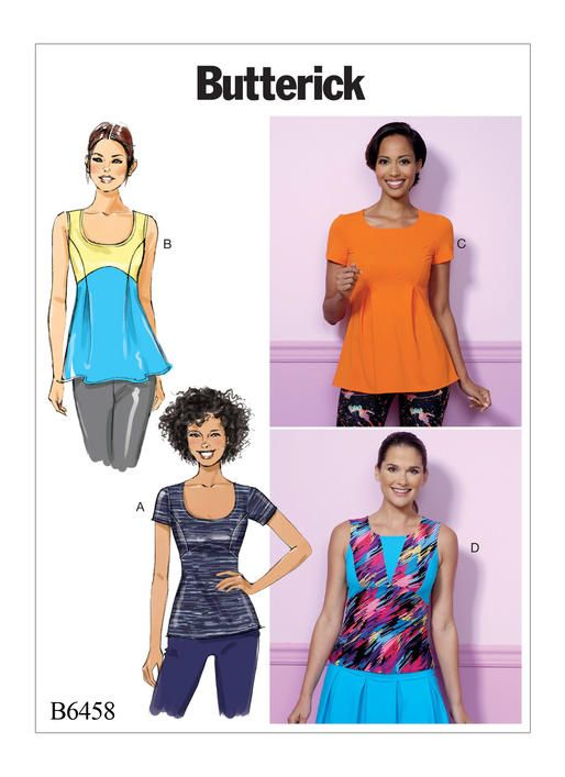 B6458 | Butterick Patterns | Sewing Patterns