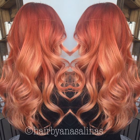 pretty in peach ombre hair pinterest home ombre and