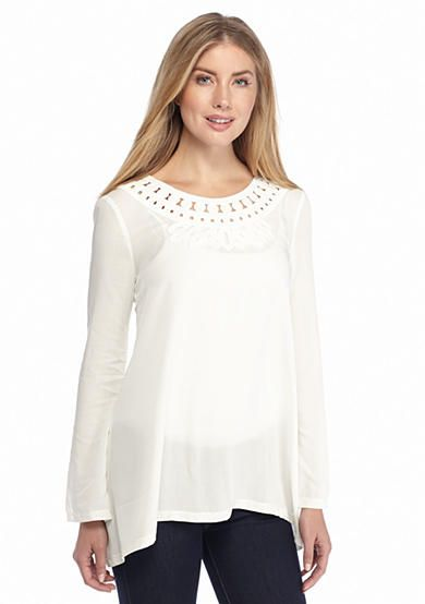 Sophie Max Asymmetrical Solid Top