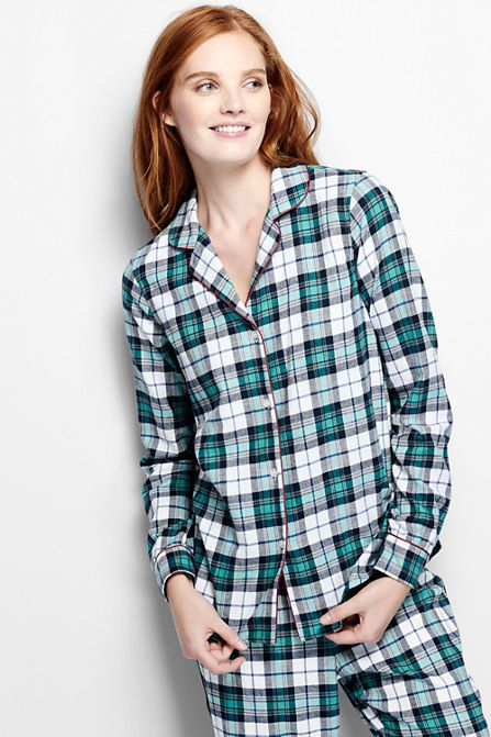 Women's Flannel Sleep Shirt