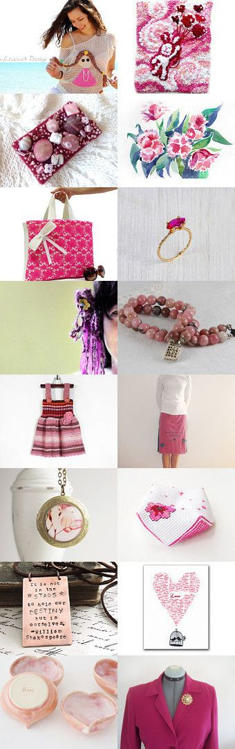 *****Pink Trends***** by Sevin� Yal?nk?l?� on Etsy--Pinned with TreasuryPin.com