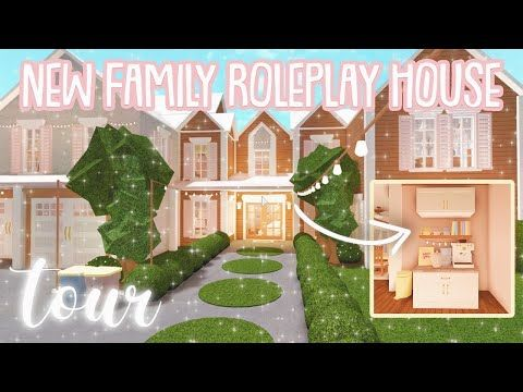 New Bloxburg Roleplay Family House Tour Roblox Bloxburg Youtube Family House Diy House Plans Unique House Design