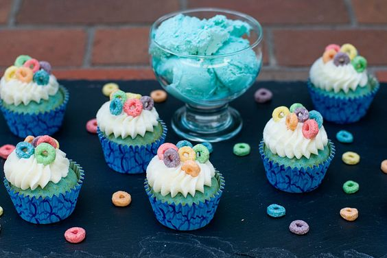Blue Moon Ice Cream Cupcakes » With Sprinkles on Top