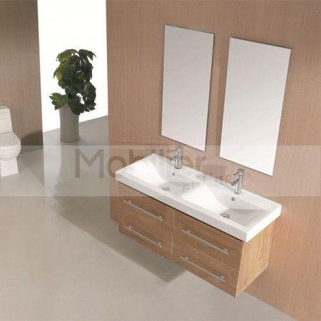 Compos de bois massif aux tons naturel ou gris ce bel for Miroirs rectangulaires bois