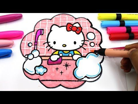 Hello Kitty Colouring Pages How To Draw Hello Kitty Youtube Videos For Children Youtube Hello Kitty Colouring Pages Hello Kitty Coloring Hello Kitty