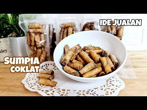 Untung Besar Dari 2 Bahan Ide Jualan Kue Kering Lebaran Resep Sumpia Coklat Youtube Kue Kering Resep Coklat