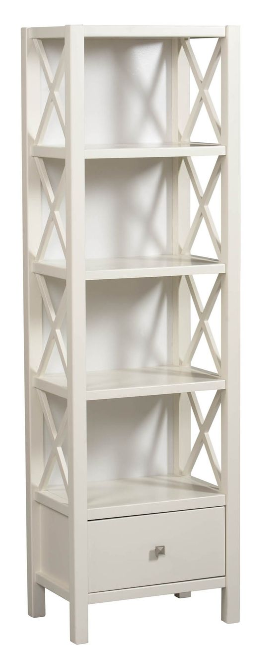 Shop Linon Home Decor Anna Narrow Bookcase at ATG Stores. Browse our  bookcases, all with free shipping and best