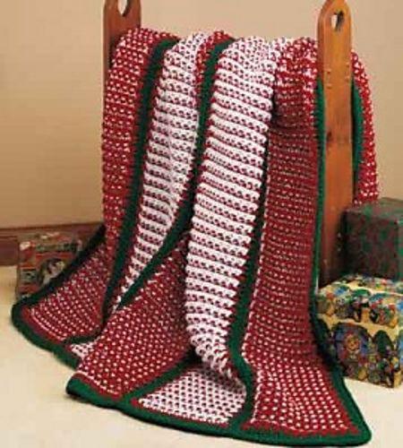 Crochet Pattern For Peppermint Afghan : Crochet Patterns Galore - Peppermint Twist Crocheted ...