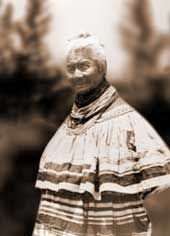 creek indian woman