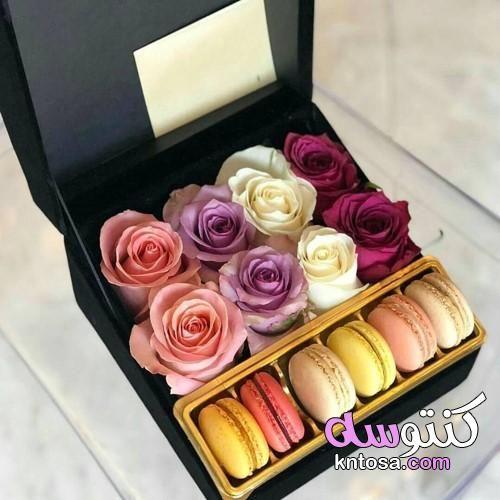 صندوق ورد هدايا Flower Box Gift Flower Gift Flowers Bouquet Gift