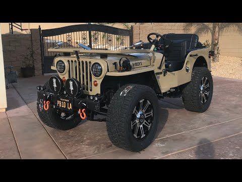 Modifizierter Jeep Willys Landi Dubwali Punjab Wrangler Thar