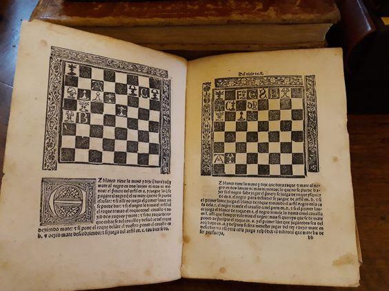 """""""Repetición de amores y arte de ajedrez"""" Luis de Lucena"""