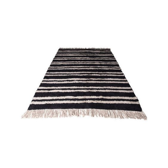 Mink Interiors OSLO Vintage Style Rug ($330) ❤ liked on Polyvore featuring home, rugs, vintage style area rugs, black rug, vintage inspired rugs, vintage style rugs and black area rugs