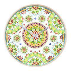 Kristofer's Mandala Wooden Wall Clock > EVERYTHING Kristofer's Mandala > #PatriciaSheaDesigns