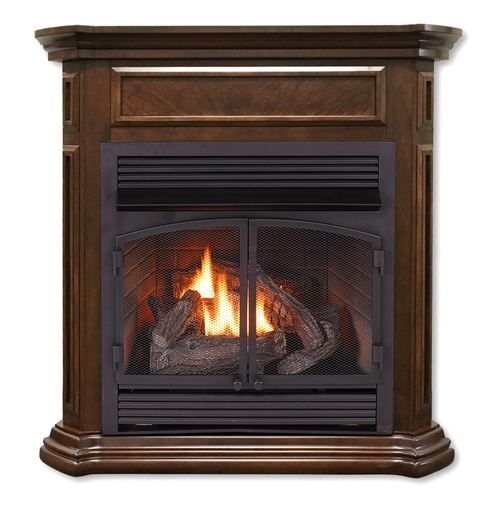 Duluth Forge Dual Fuel Ventless Fireplace 32 000 Btu T Stat