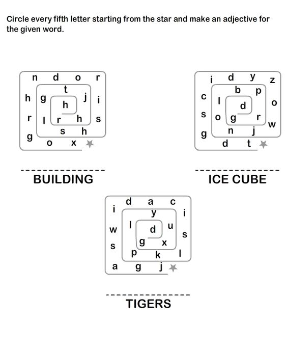 Describing Words Worksheet2 eslefl Worksheets kindergarten – Educational Worksheets