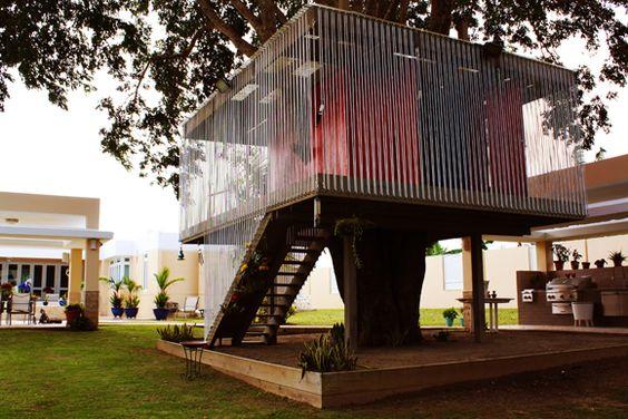 San Juan tree house