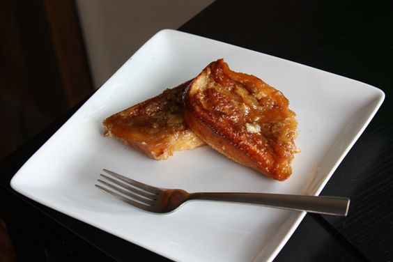 Oven-Baked Caramel French Toast:  How delicious does this sound?