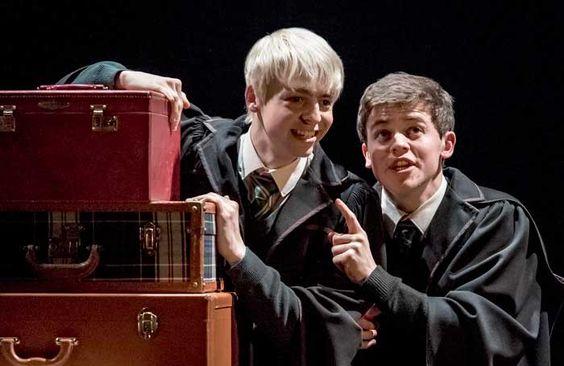 Anthony Boyle And Sam Clemmett Photo Manuel Harlan Rowling Harry Potter