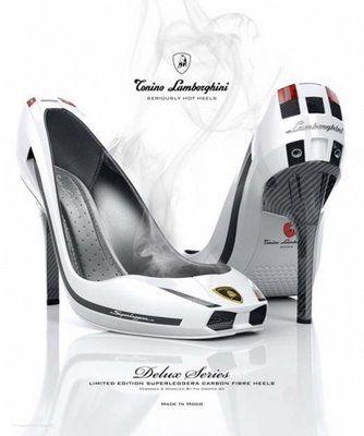 Lamborghini High Heels Shoes ~ www.popgive.com