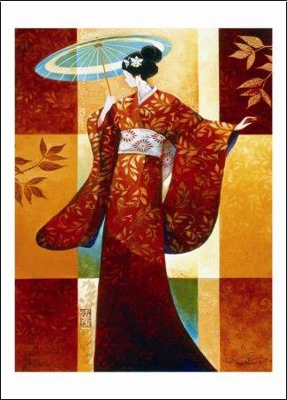 Keith MallettFiguratif asiatique (art décoratif)