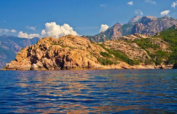 #cosica, #france, #trips, #mediterranean_sea, #beach, #piana  Corsica-Calanques de Piana  Calanques de Piana un univers mineral fabulos | Blogul Larisei