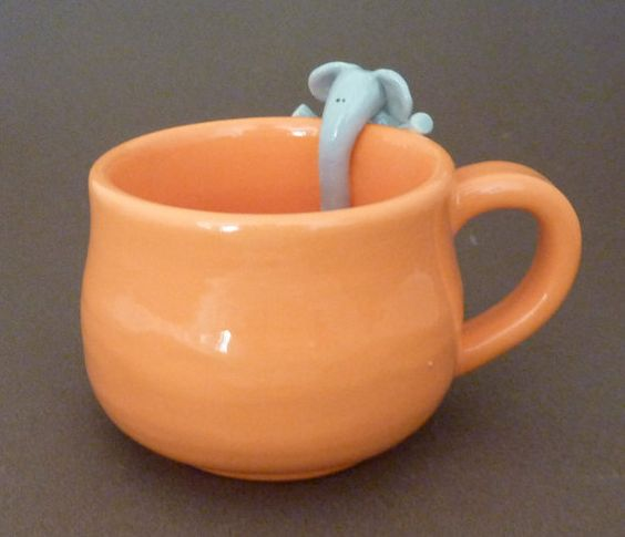 mug with elephant