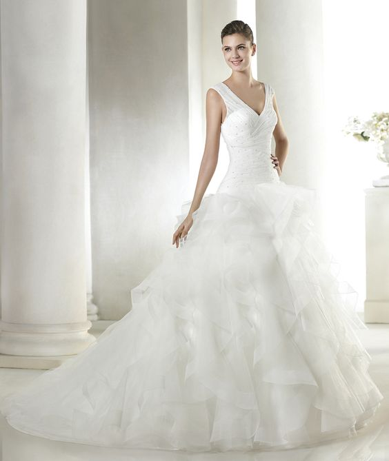 Sakima wedding dress from the Dreams 2015 - St Patrick collection   St. Patrick