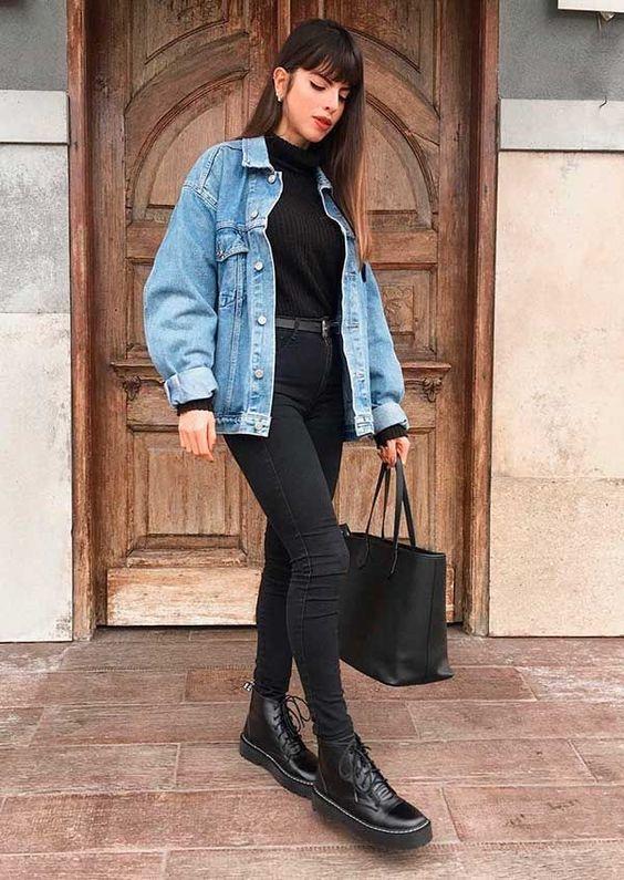 Look especial calça e jaqueta