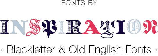 Fonts by Inspirations