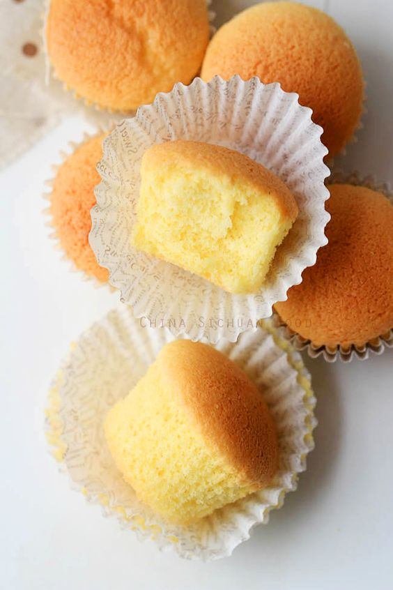 Chinese Egg Cakes—Old Style Baked Version