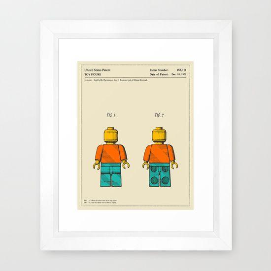 MODERN MAN Framed Art Print